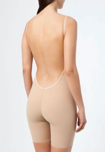 Backless Bodysuit with Longer Leg